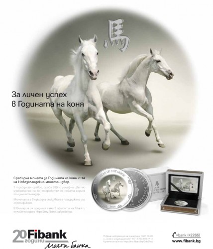 Year of the horse coin